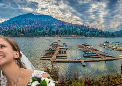 Bass Lake Panorama by Marc Blake Photography & Video Production