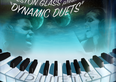 Preston Glass Duets CD cover by Marc Blake Photography & Video Production