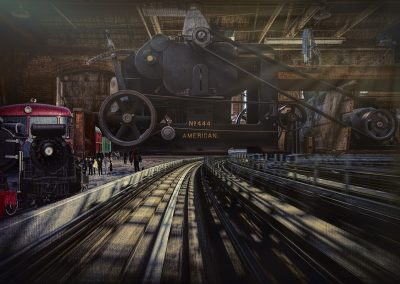 The Train Station Anderson Woodworking Discover Downtown Fresno by Marc Blake Photography & Video Production