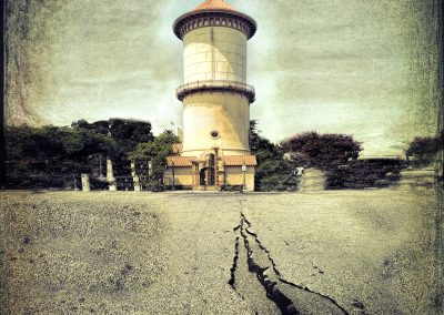 Water Tower Earthquake by Marc Blake Photography & Video Production